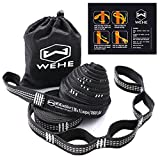 Your search for the best hammock straps is finally over. Features: 100% Brand new and high quality Strong hammock strap with stand weight of 2000 lbs These straps will not stretch, each loop is sewn with heavy duty stitches You will get the perfect s...