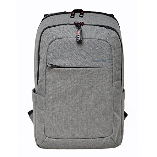SAVA Slim Business Laptop Backpack Anti Thief Tear/Water Resistant Travel Bag fits up to 15.6 Inch Macbook Laptop