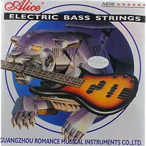 Alice Stahl Gitarrensaiten für E-Bass medium