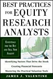 img - for Best Practices for Equity Research Analysts: Essentials for Buy-Side and Sell-Side Analysts book / textbook / text book