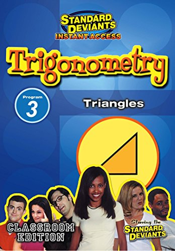 SDS Trigonometry Module 3: Triangles [Instant Access]