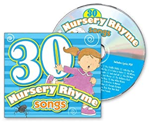 Audio CD 30 Nursery Rhyme Songs: Includes Pdf Lyrics Book