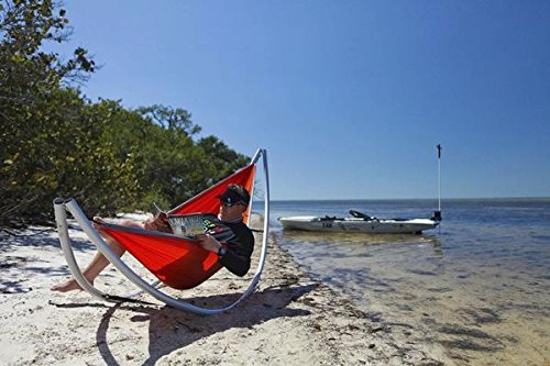 Amazon.com : HAPPY TIMES HAMMOCK SHOP | Lightweight Aluminum Portable  Camping Hammock Stand | 8 Piece Collapsible With Shoulder Bag | Patio  Furniture ...