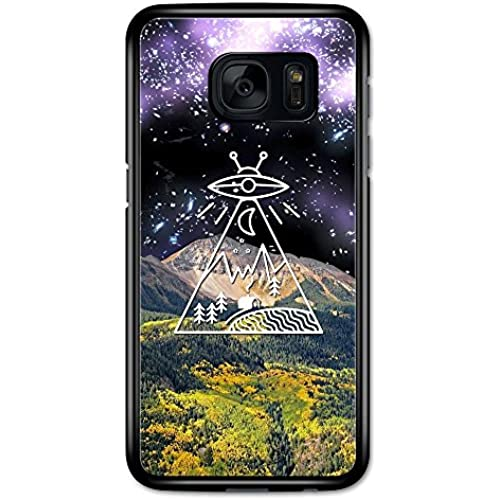 Alien Space Countryside with Mountain Collage Minimalist case for Samsung Galaxy S7 Sales