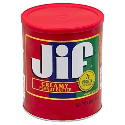 Jif Creamy Peanut Butter, 4 lb., 6 Count