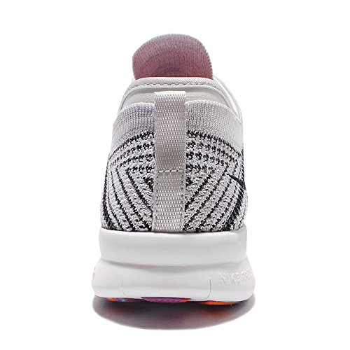 Nike Dames Vrij Tr Vliegknit Loopschoen (11, Wit Zwart Pure Platina Hyper ...