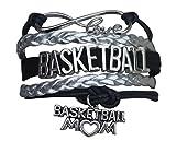 Basketball Mom Bracelet- Charm Bracelet- Basketball Jewelry For Moms- Perfect Basketball Gift