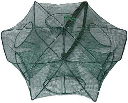 JIOLK お魚網かご 魚捕り 釣りネットケージ 魚仕掛け 釣り網 魚網 収納 折り畳み ばっちり捕獲 小魚 大漁捕穫簡単 持ち運び