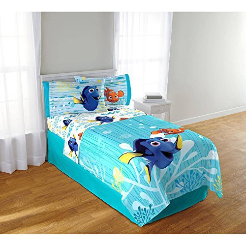Character Sets - Disney Finding Dory 4 Piece Full Sheet Set