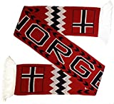 Norway Norge Soccer Knit Scarf