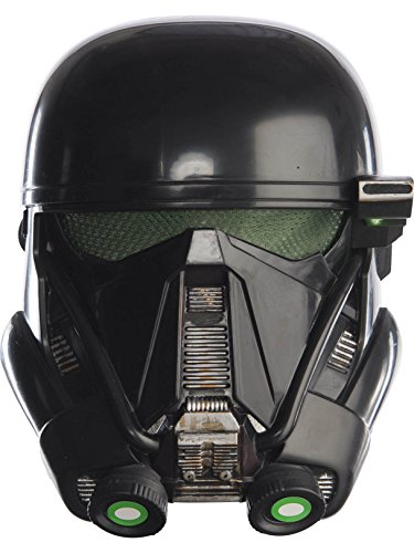 Rubie's Costume Rogue One: A Star Wars Story Child's Death Trooper Half-Mask, One Size -