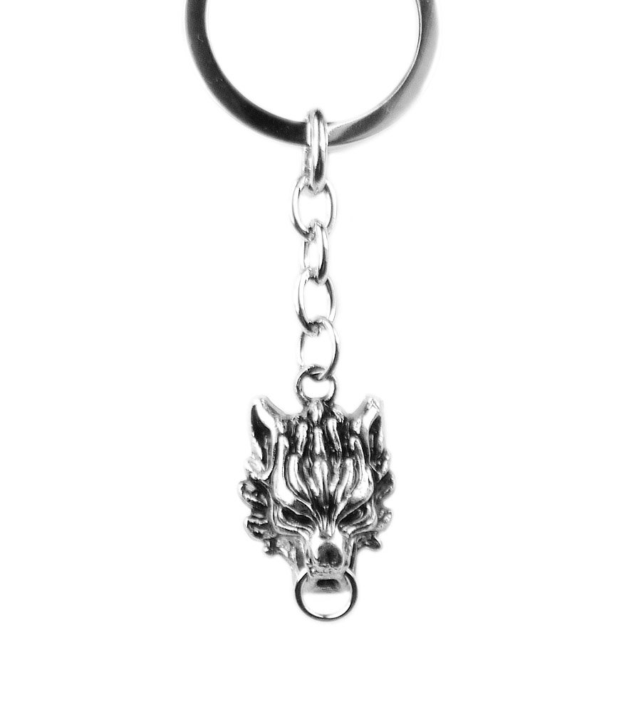 Final Fantasy: 7 Advent Children Cloud Cerebus Wolf Keychain