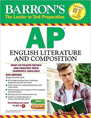 barrons ap english language and composition
