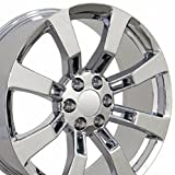 22 rims escalade - OE Wheels 22 Inch Fits Chevy Silverado Tahoe GMC Sierra Yukon Cadillac Escalade CV82 Chrome 22x9 Rim Hollander 5409