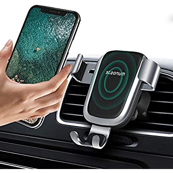 Wireless Car Charger, Steanum QI Gravity Car Mount Air Vent Phone Holder, Fast Charge for Samsung Galaxy S9/S9+/S8/S7, Standard Charge for iPhone ...