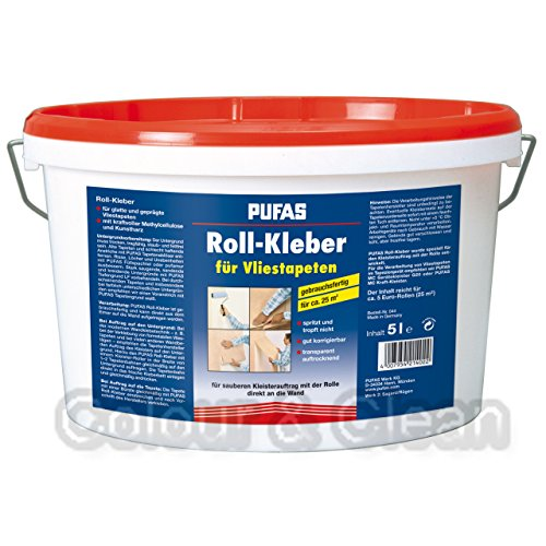 Pufas Roll-Kleber gebrauchsfertig 5L Kleister für Vliestapeten