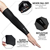 Malocaos Arm Sleeves for Men Women - UV Protection Cooling...