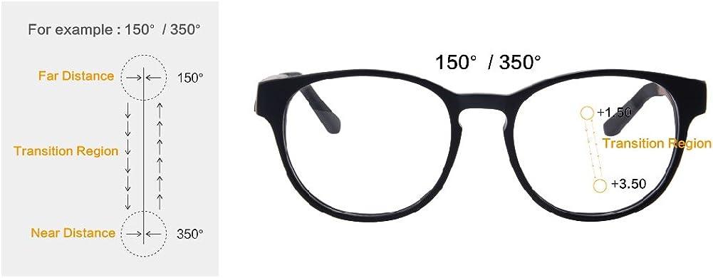 SHINU Progressiva Messa a Fuoco Multipla Occhiali da Lettura Multifocus Occhiali Multifocali Computer Occhiali da Lettura-ZF110