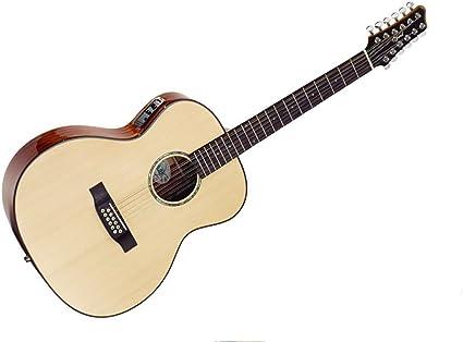 Ozark madera maciza de caoba/abeto de 12 cuerdas para guitarra ...