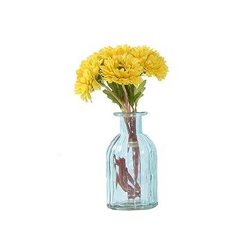 Amazon De Tellm Bunten Glas Vase Blumenschmuck Tisch Schlafzimmer