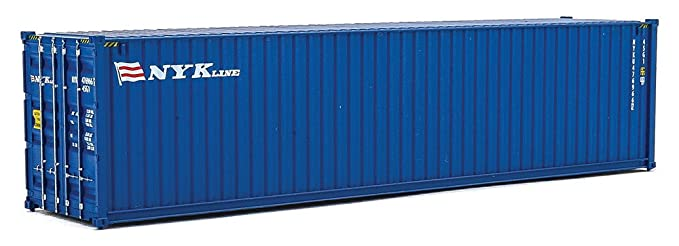 Amazon com: Walthers Trainline 40' Hi-Cube Corrugated Container Nyk