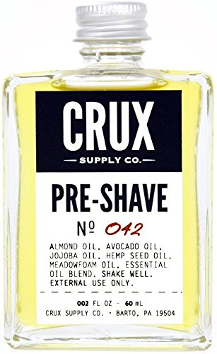 CRUX Supply Co. – Pre-Shave Oil