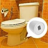 Canomo 4 Packs Universal Plastic Round Toilet