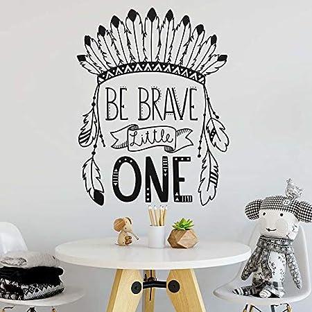 Crjzty Nursery Decor Be Brave Little One Etiqueta de la Pared de ...