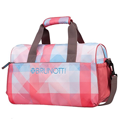 BrunottiCarry All Faded Check Whisper - Bolso bolera Mujer Multicolor - Mehrfarbig (Whisper 302)
