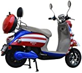 800W Boom Patriot 48V Electric Moped Scooter