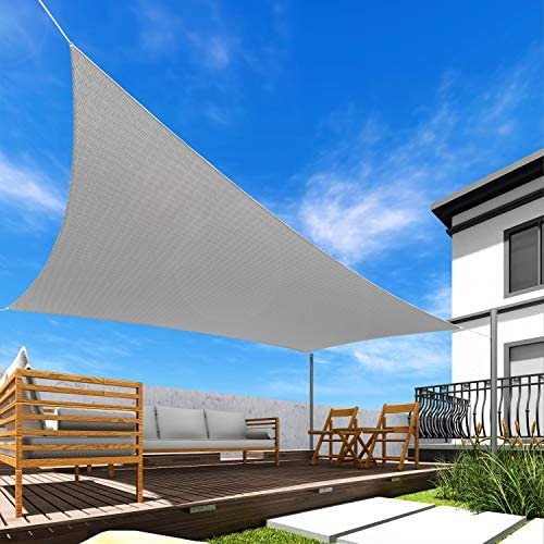 Windscreen4less 18' x 18' Square Sun Shade Sail