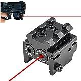 Feyachi Laser Sight/Red Dot Lazer Sight/Pistol Laser Sight/Mini Red Dot Sight for Weaver or Picatinny Rail