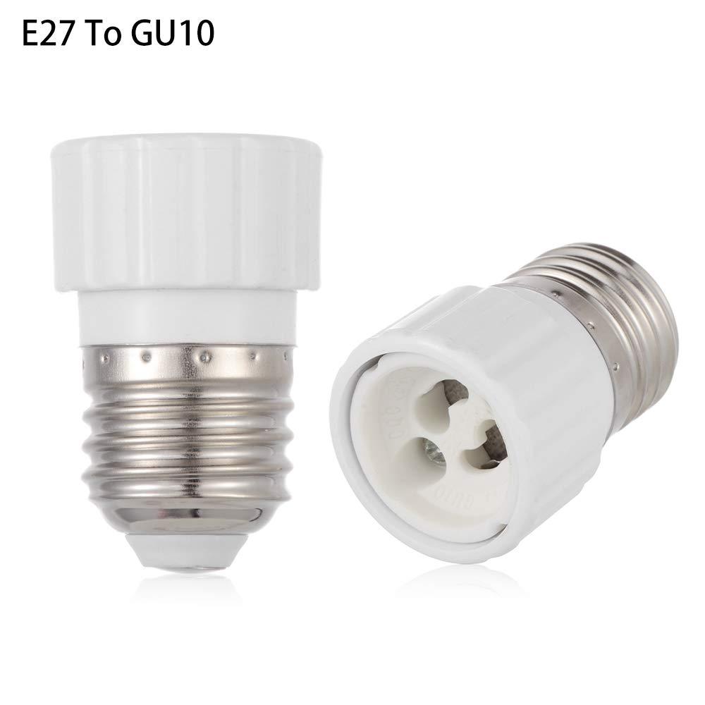 E14 To GU10 Extension Socket LED Lamp Set Small Socket 265V 2A Adapter