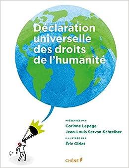 Déclaration universelle des Droits de l'Humanité Illustrée PF