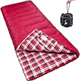 sleeping bag - Reisen Warm & Cold Weather Sleeping Bag, 0 Degree Celsius Lightweight Sleeping Bags for Adults/Youth, Great for 3-4 Season Backpacking/Camping/Hiking (30°F-50°F) …