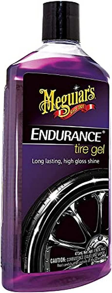 Meguiar's Endurance Tire Gel for a lasting shine