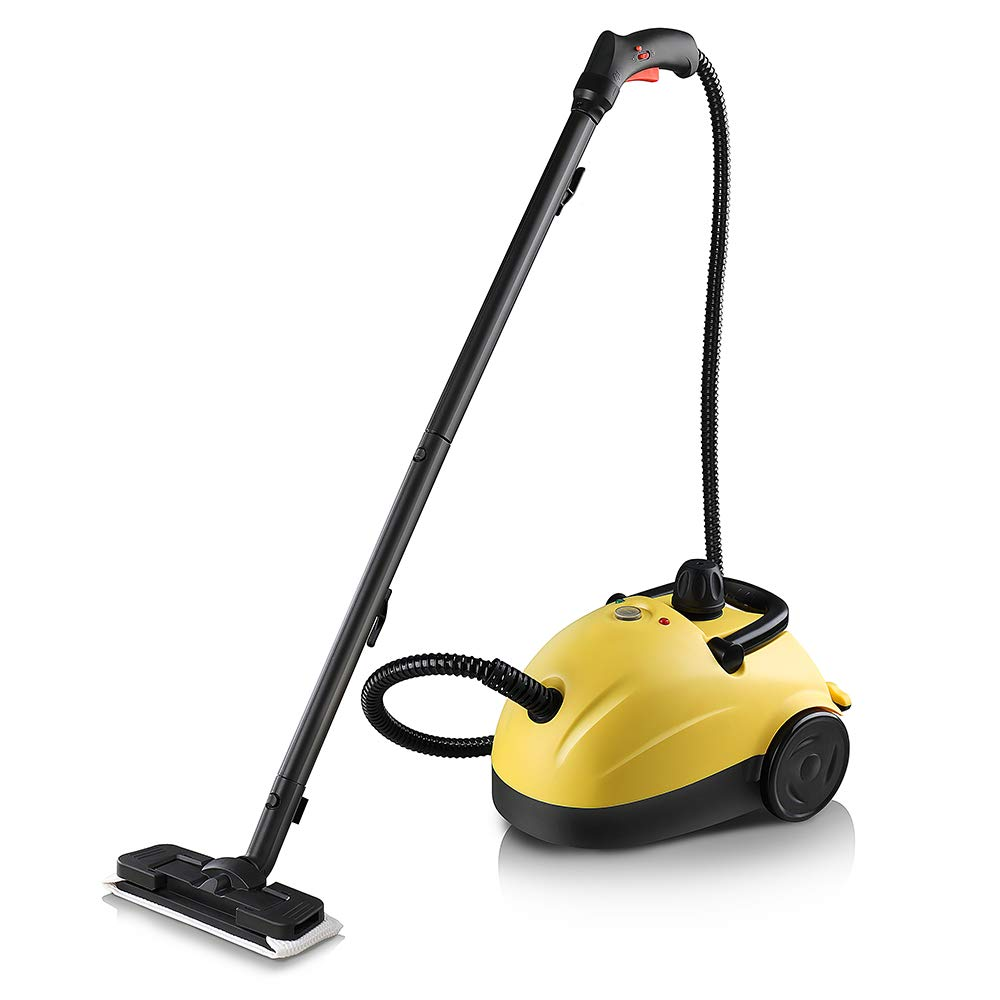 Linsion Pressure+ Muti-Popurse Steam Cleaner,70psi 1500w Heats Up in 15 Seconds with High Pressure Spray Gun for Bathroom, Kitchen, Surfaces, Carpet, Car Seats and Floor Cleaning