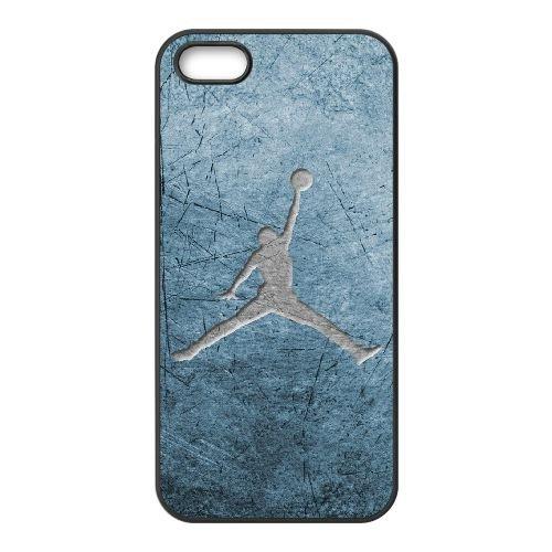 Jordan Logo 004 coque iPhone 5 5S cellulaire cas coque de téléphone cas téléphone cellulaire noir couvercle EOKXLLNCD24918
