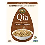 Nature's Path Organic Hot Cereal Qi'a Pure Oats Oatmeal Creamy Coconut, 228g