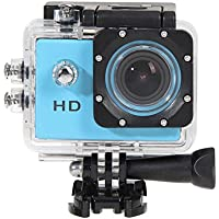 Domybest 2.0In HD Sports Action Waterproof Camera Mini DV SJ4000 Blue