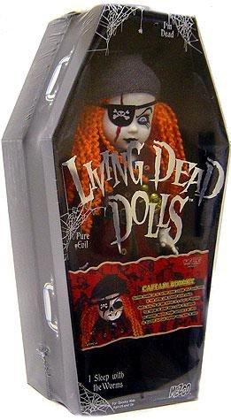Living Dead Dolls Fashion - Mezco Toyz Living Dead Dolls Exclusive Figure Captain Bonney