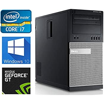 dell gaming 990 desktop computer optiplex intel core i7 upto 38ghz cpu 16gb