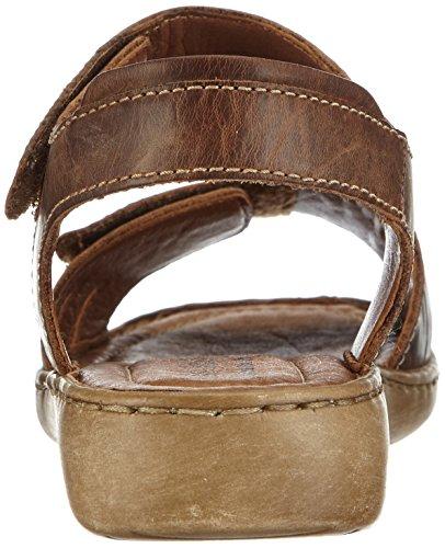 Josef Seibel Schuhfabrik GmbH Lisa 01 73715 95 234 - Sandalias clásicas de cuero para mujer Marrón