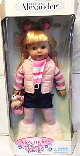 "Madame Alexander ""ALEXANDER GIRLZ"" Blonde Doll 18 inch 2007"