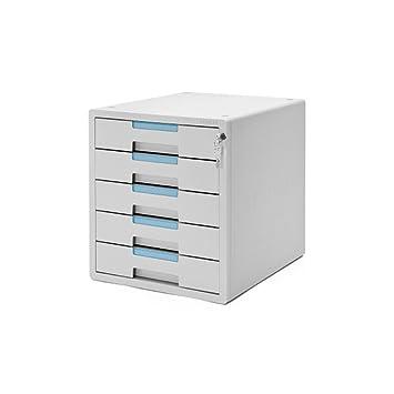 ARTBOX 5 cajones Mueble archivador Oficina en casa Clave con Cerradura del gabinete de Almacenamiento System-2 1205 K: Amazon.es: Hogar