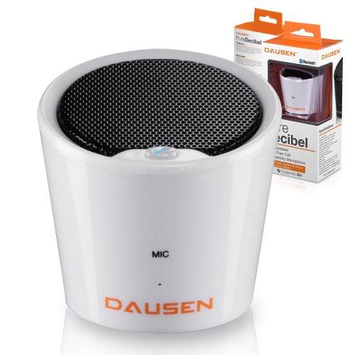 Ultra Compact Pure Decibel White Bluetooth Speaker, Minimali