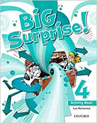 Big Surprise! 4. Activity Book - 9780194516235: Amazon.es