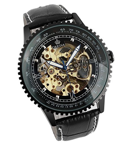Carrie-Hughes-Men-Steampunk-Automatic-Watch-Skeleton-Luminous-Stainless-steel-Mechanical-Waterproof-Watch