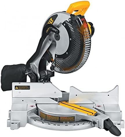 DEWALT DW715 15-Amp 12-Inch Single-Bevel Compound Miter Saw Discontinued