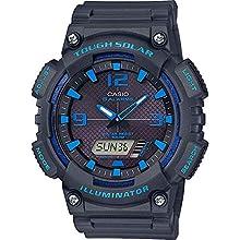 Casio Reloj Analógico-Digital para Hombre de Cuarzo con Correa en Resina AQ-S810W-8A2VEF